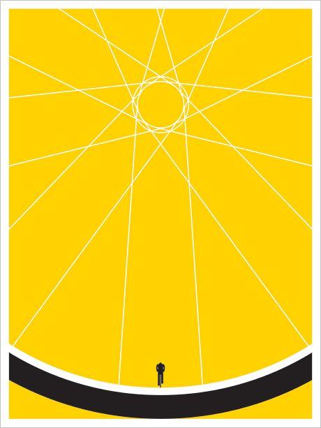#bici #poster #illustrazione #grafica