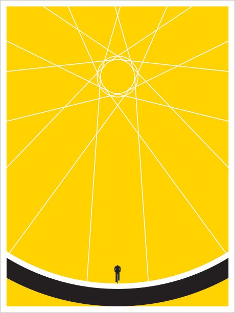 Biker - Jason Munn, I love the simplicity and impact of this poster