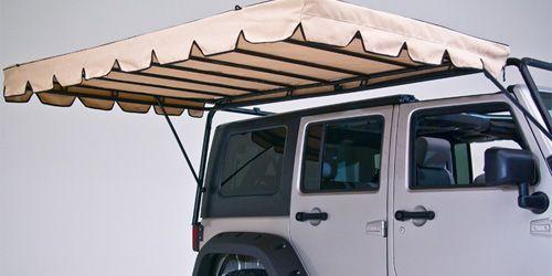 jeep cargo rack ladder | Wild Boar Optional Canopy