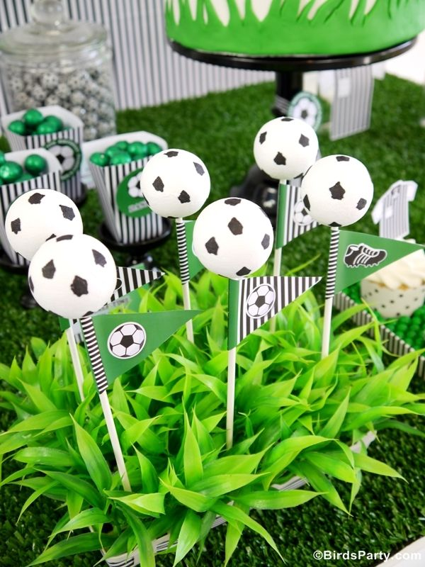 La Coupe du Monde 2014: Idées et Inspiration Pour Une Football Party!! #coupedumonde #football #brésil #fifa #lacoupedumonde2014 #party #sweettables