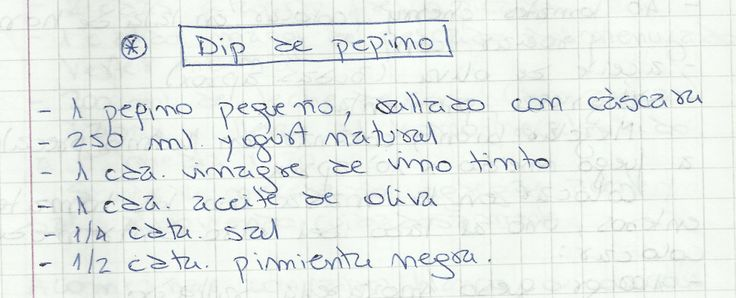 DIP DE PEPINO   #SALADO #SALSAS #DIP #PEPINOS