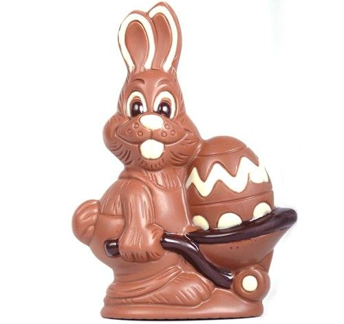 37 best easter images on pinterest easter candy bunnies and milk chocolate wheelbarrow bunny from jacques torres negle Choice Image