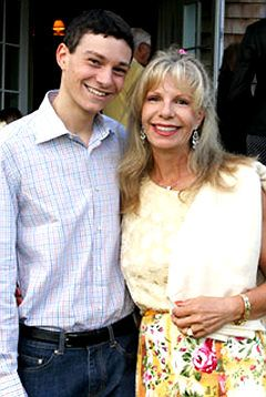 Rita Hayworth�s daughter Prince Yasmin Aga Khan with her son ( Rita�s Grandson) Aly Andree Embricos. Description from forum.alexanderpalace.org. I searched for this on bing.com/images