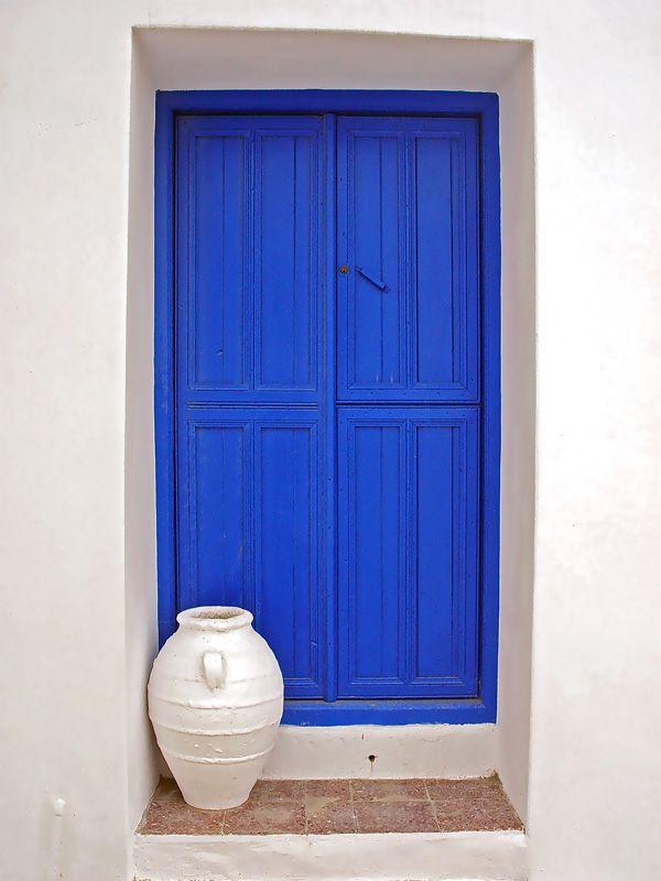 Blue versus White, Amorgos Island, Cyclades, Photo credit Verswe