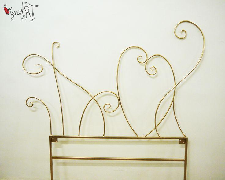 1000 ideas sobre cabecero de hierro forjado en pinterest - Cabecero hierro forjado ...
