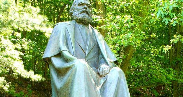 Karlovy Vary Karl Marx Heykeli