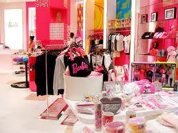 barbie clothes store