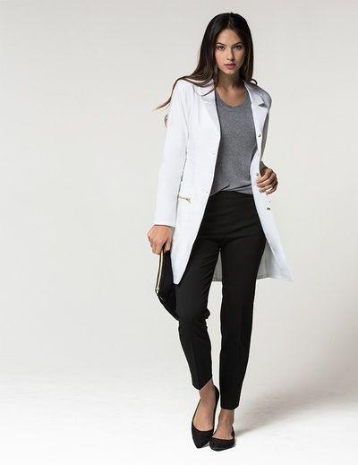 Cute lab coat