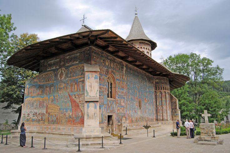 Monastero Voronet 1488 - Bucovina Romania di Franco Leo