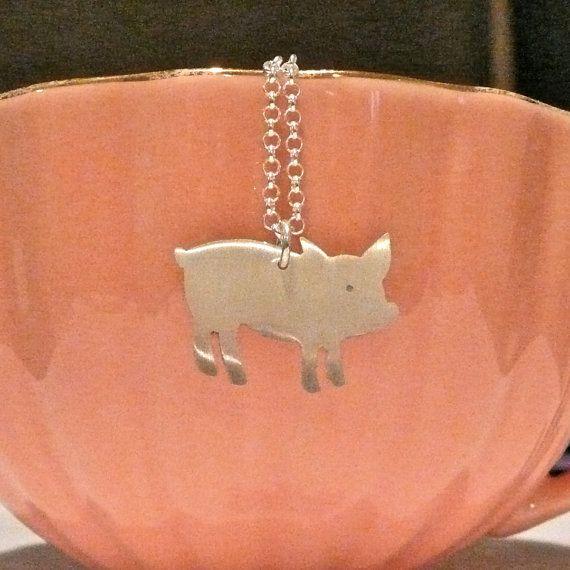 pig tea bag holder