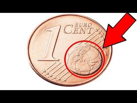 Münzen mit diesem Zeichen sind bis zu 7000 Euro wert - YouTube