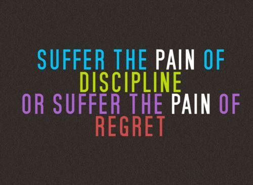 Pain... your choiceRemember This, Inspiration, Quotes, Workout Exercies, Pain, Regret, Health, Discipline, Fit Motivation