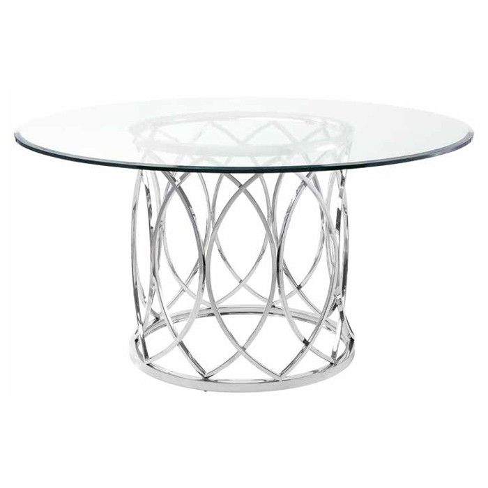 17 Best Ideas About Glass Dining Table On Pinterest