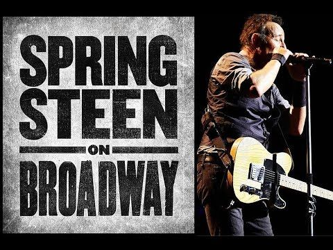Bruce Springsteen On Broadway NYC 11th Oct 2017 Audio - YouTube