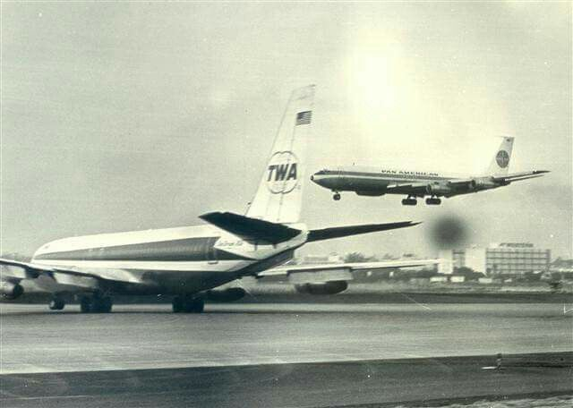PanAm and TWA pioneers of the sixties with the Boeing 707