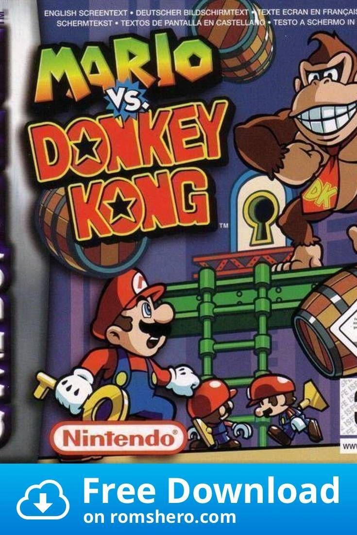 Download Mario Vs Donkey Kong Gameboy Advance Gba Rom Donkey Kong Gameboy Advance Gameboy