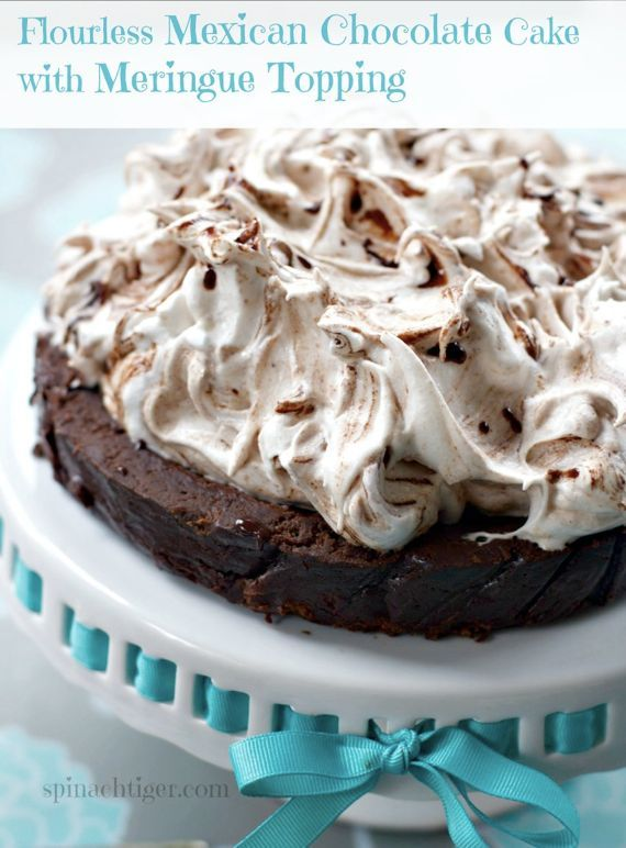 The cake everyone loves every time I make it. AMAZE your guests with Flourless Mexican Chocolate Cake  by Angela Roberts