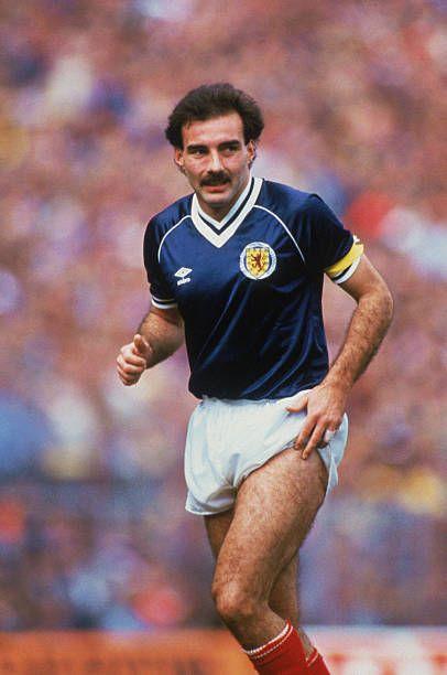 Willie Miller Scotland 1983