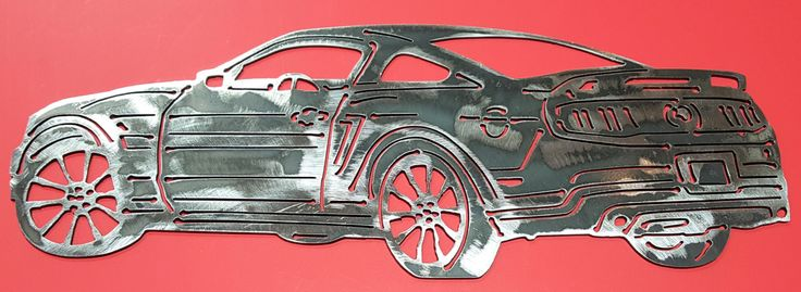 2011 Ford Mustang, California Special, Ford Mustang, Mustang Metal Art, Wall Art, Home Decor, Car Art, Man Cave, Gift for Him, Gift by CassteenIronworks on Etsy  Coupon: PINTEREST15