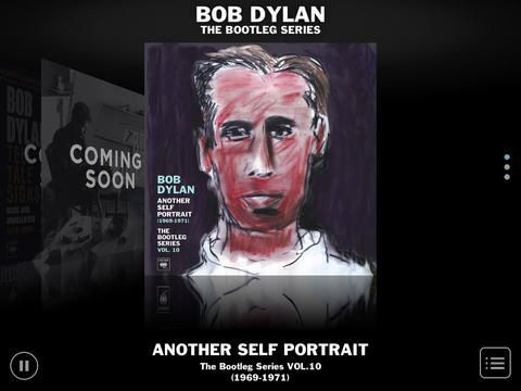 """R. 1.5 update deletes the data from""""Bob Dylan Another Self Portrait"""" By Stephen Pate - Bob Dylan fans might be perplexed by the missing app data in The Bob Dylan Bootleg Companion App."""" To speed up..."""