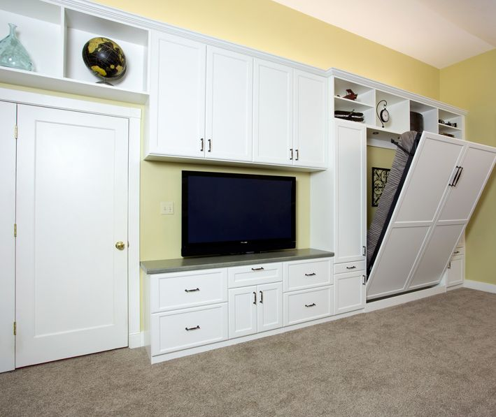 newer homes often have finished basements custom wall beds help you transform this area into