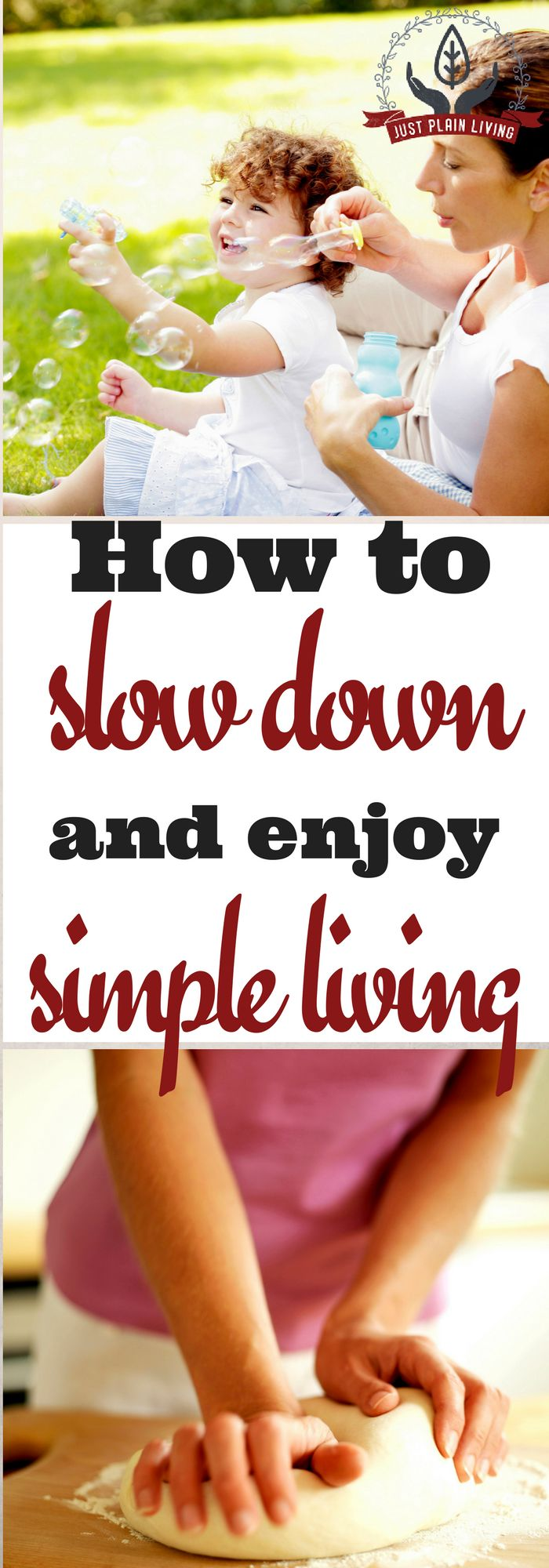 Entire books have been written on how to slow down, enjoy simple pleasures, and lead a simple lifestyle. Get started with a few simple changes.