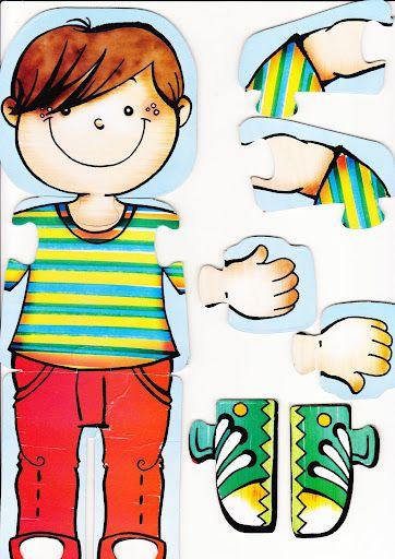 Atividades sobre corpo humano para a Educação Infantil - ESPAÇO EDUCAR