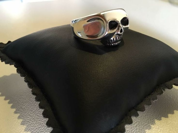 ANELLI TESCHI -CAPO INDIANO -SKULL RING -CHIEF RING