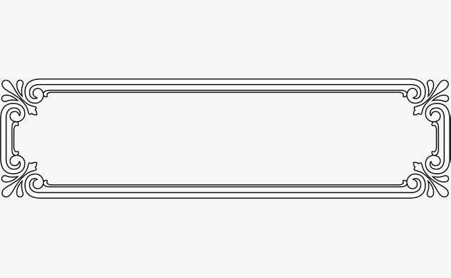 النمط الكلاسيكي الإطار الأسود Black Frame Frame Pattern
