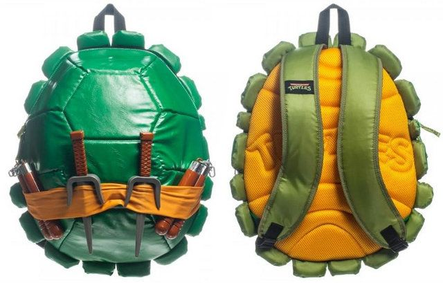Sac à dos Tortue Ninja carapace #TMNT #ecole