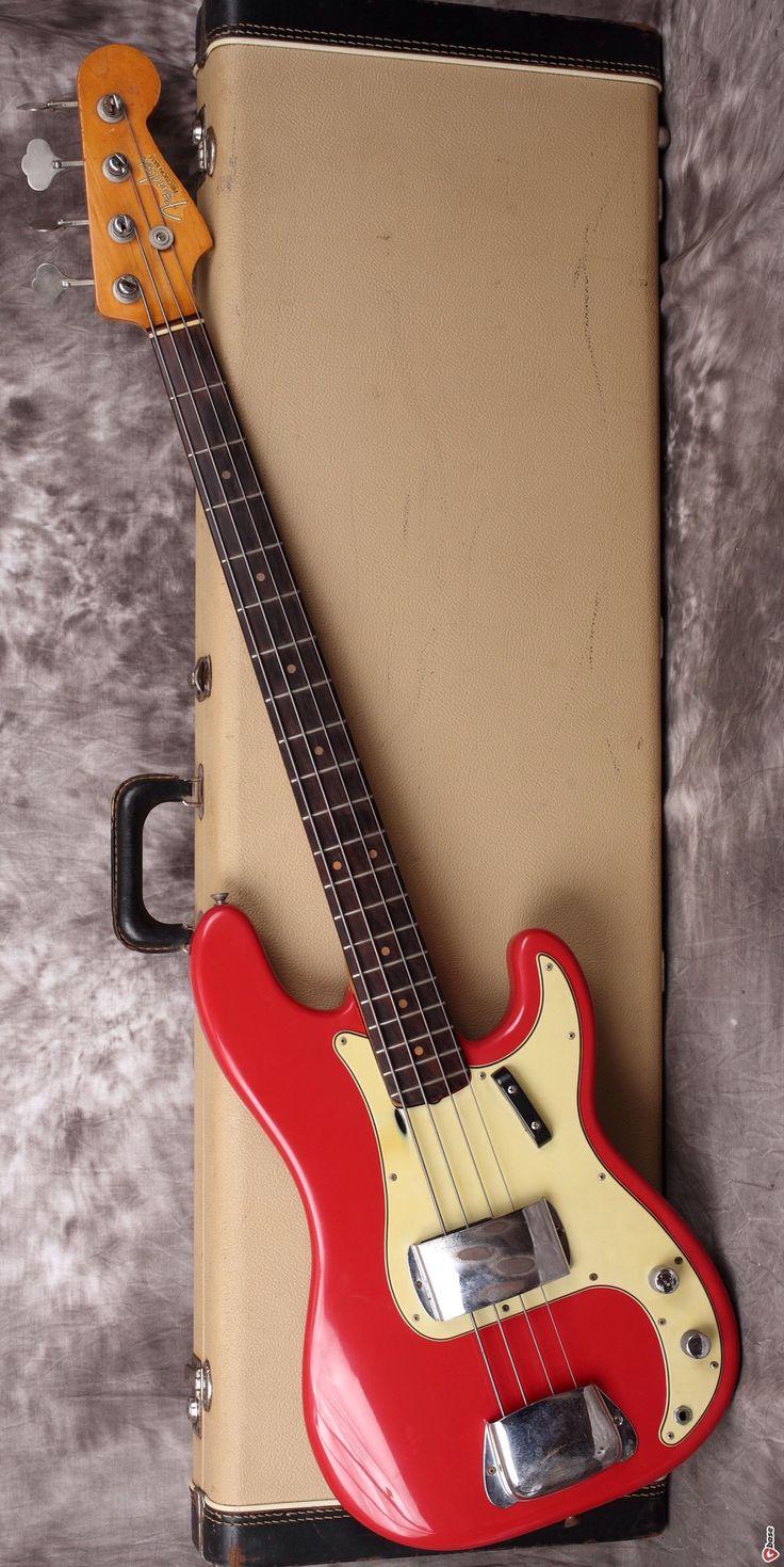 Fender Precision Bass www.vintageandrare.com