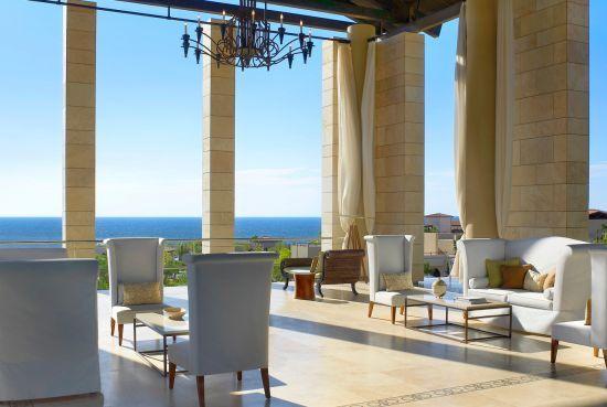 The Romanos at Costa Navarino. The Locke family's favorite vacation spot!!!
