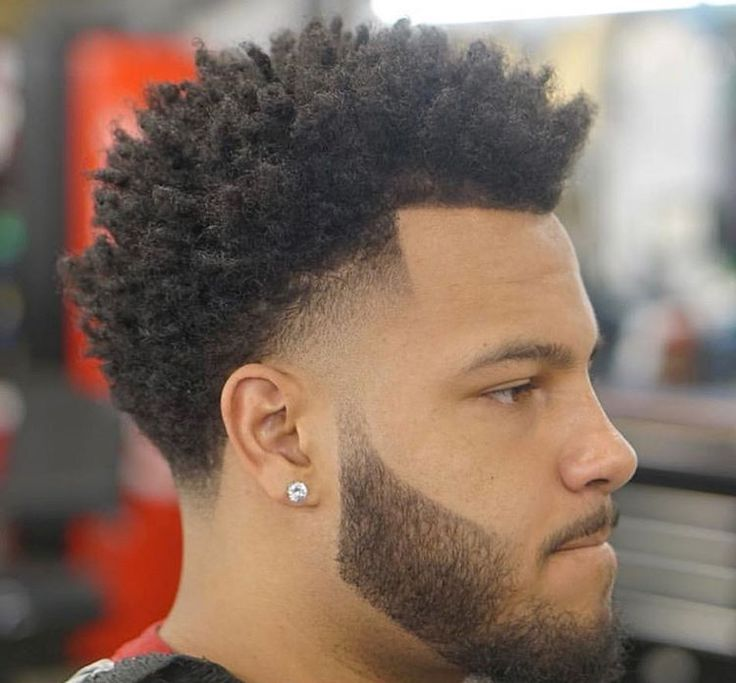 My New Hair Style Gents Hair Style Curly Hair Fade