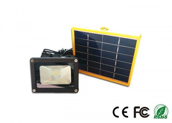 Mini Outdoor Solar Led Flood Lights 3 Watt Light Sensor Ip65 SMD2835   Solar  LED Flood