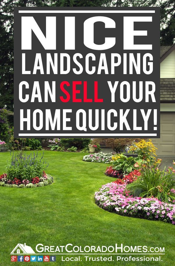 Home Selling Tip #1: Nice Landscaping Can Sell Your House Qucikly. Find 5 Tips to Sell Your House faster Than Your Neighbors did right here.