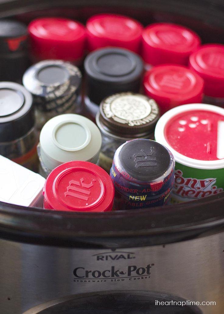 how to clean crock pot hack