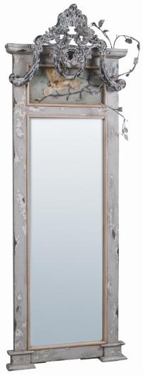 Magnolias,hand carved leaves,  distressed white finish: Vivienne Floor, Mirror Mirror, Floor Mirrors, Floors, Style, Soft Surroundings, Embellished Floor, Mirror Image, Mirror 648 95