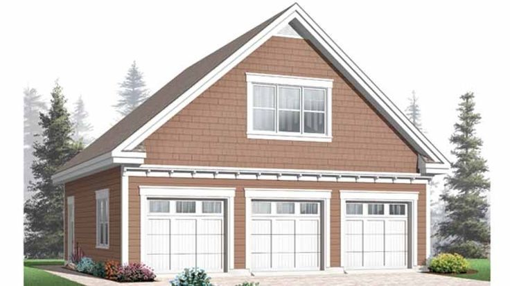 Garage Plan With 620 Square Feet And 0 Bedrooms From Dream