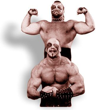 The Road Warriors/Legion of Doom... My all time favorite tag team.#rebuildingmylife