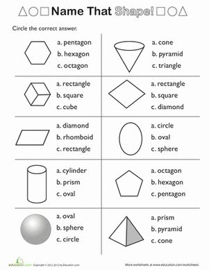17 best images about Maths - 3D Shapes on Pinterest | Cut and ...