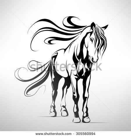 Horse Line Fotografie, snímky a obrázky | Shutterstock
