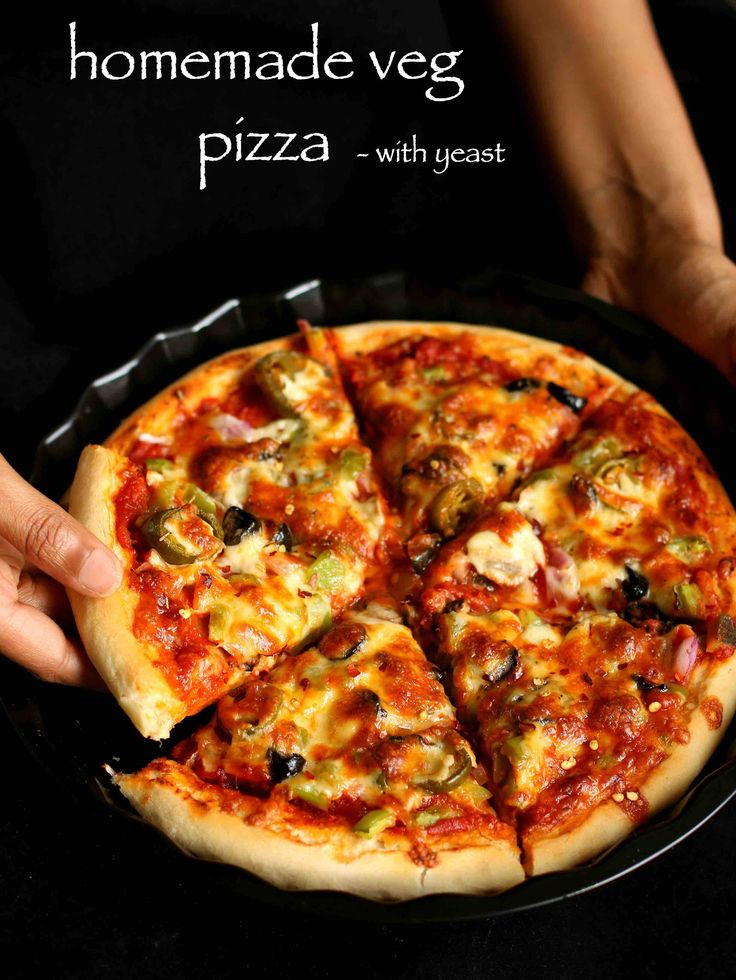 veg pizza recipe, veggie pizza recipe, vegetable pizza recipe with step by step photo/video. italian cuisine delicacy, prepared with yeast and baked in oven