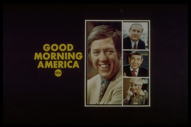 media credibility and good morning america Abc's good morning america premiered on november 3, 1975 with hosts  david hartman and nancy dussault.