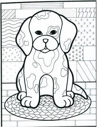 27 Best More Dogs To Color Images On Pinterest