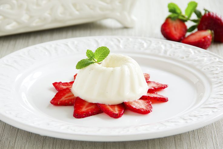 Blancmange has a reputation for blandness. But when it's well made with a bit of fruit, it's as luxurious a dessert as any.