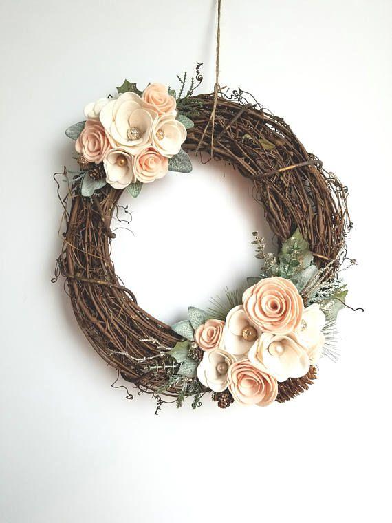 Fun Felt Flower Wreath