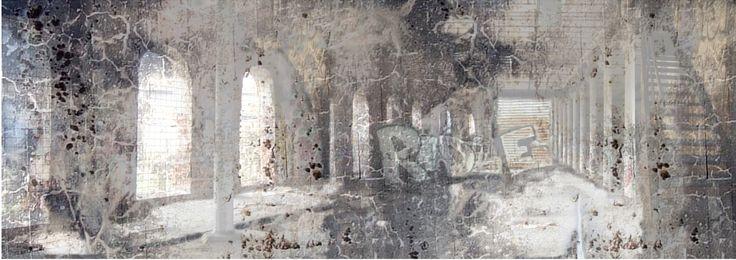 "groayla lillesund - Digital art ""RIDLE"" 34 x 97"