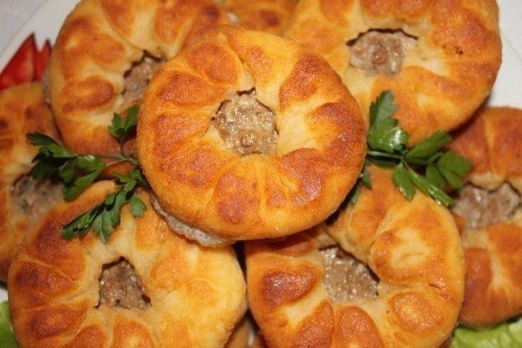 Рецепт «Беляши вкусные и очень быстрые» (тесто без дрожжей).  Тесто на самом деле очень вкусное, очень часто пеку беляши и пирожки с любой начинкой. Получается всегда, даже когда совсем нет настроения…
