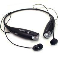 Estéreo Moda Negro HV -800 Wireless Bluetooth Headset universal de la música banda para el cuello auriculares para el teléfono móvil iPhone 5S Samsung S3 S4