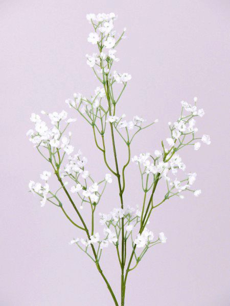 Flori artificiale la fir  Gypsophelia 60 cm alb